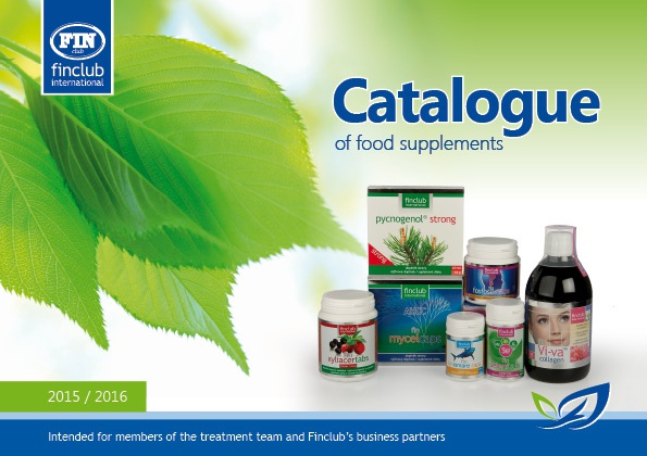 Catalogue of food supplements