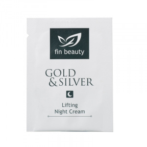 Lifting Night Cream with gold and silver 2 ml