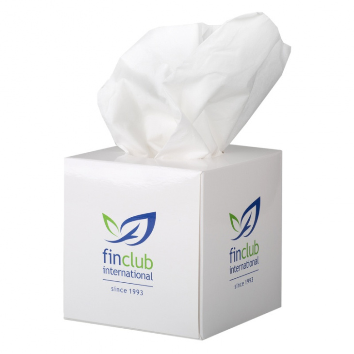Tissues in box