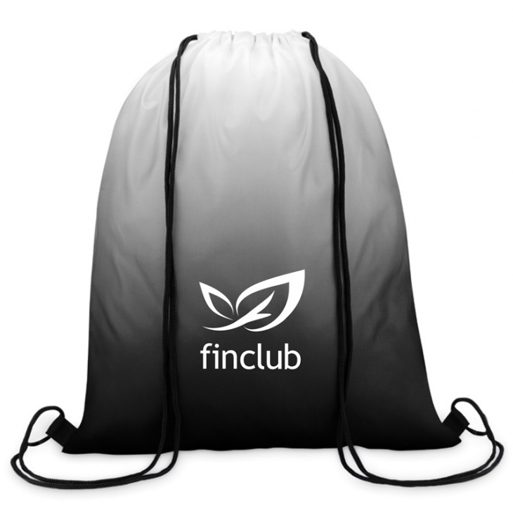 Sackpack with logo
