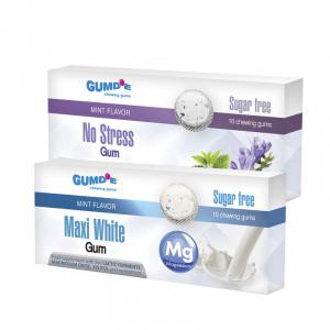 Chewing gum Maxi White + No Stress
