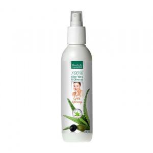 100% Aloe Vera Gel spray Aloe Vera & Olive Oil