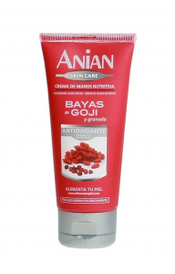 Nourishing hand cream: goji berries and pomegranate