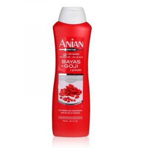 Shower Gel: goji berries and pomegranate