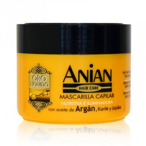Hair mask with argan oil